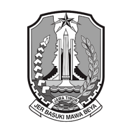 Logo Prov Jatim Hitam Putih PNG (Diambil dari website Provinsi Jawa Timur)