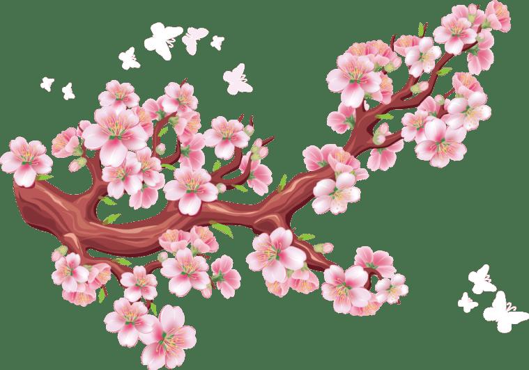 20 Gambar Bunga PNG Flower Vintage Frame Download