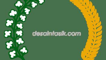 desaintasik-lambang-padi-kapas-png-cdr-vector-download