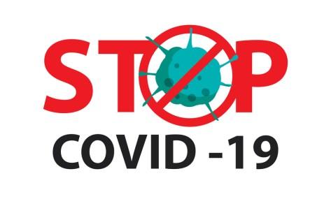 Ilustrasi Gambar Virus Corona Untuk Desain Poster