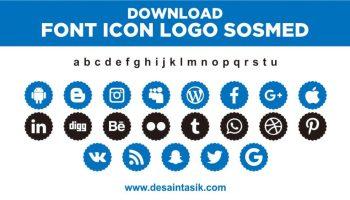 font-icon-logo-sosmed-vector2-desaintasik