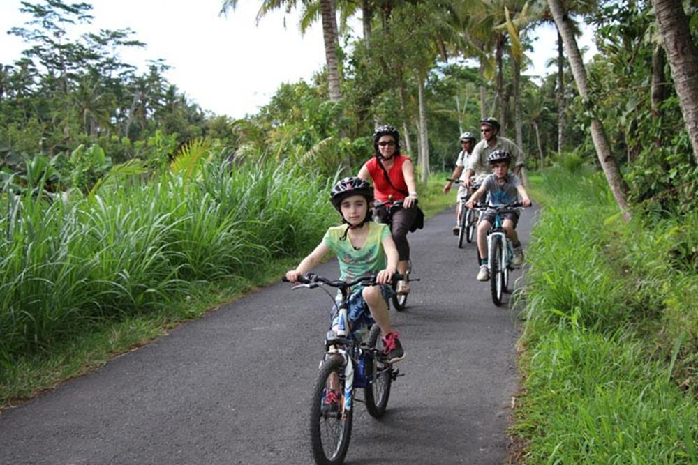 Bali Hai Cycling Desa Pengelipuran - Jalan Raya