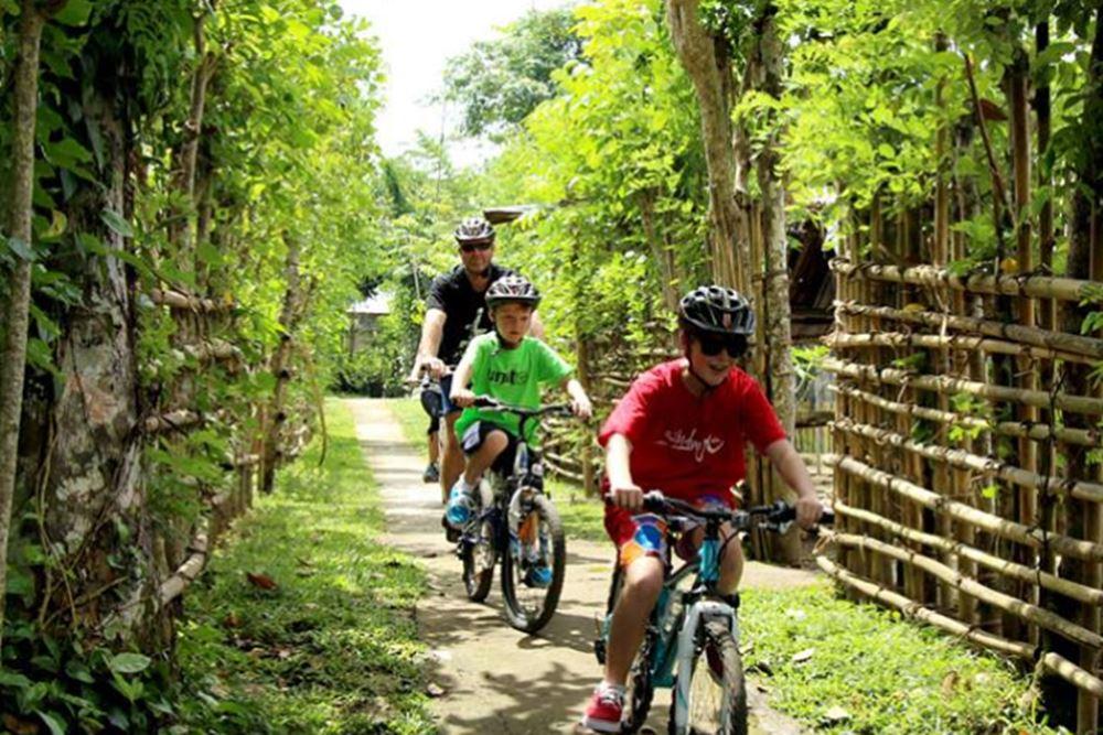 Cycling di Bali Hai Desa Penglipuran - Suasana Kampung