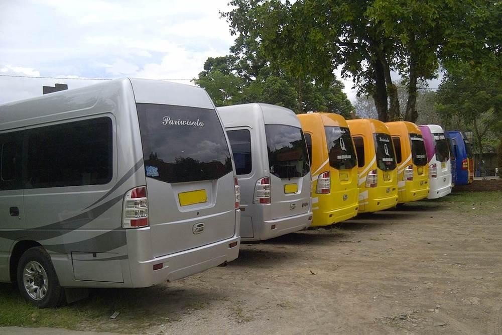 Transport Service Isuzu Elf Desa Penglipuran 05