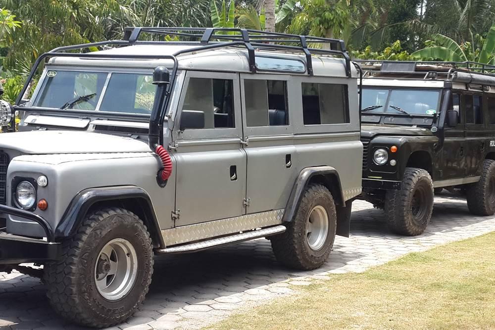 Land Rover Amazing Race Desa Penglipuran Bali - Silver