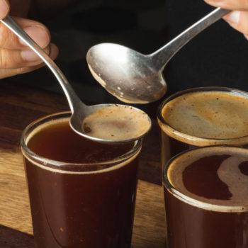 catacion de café
