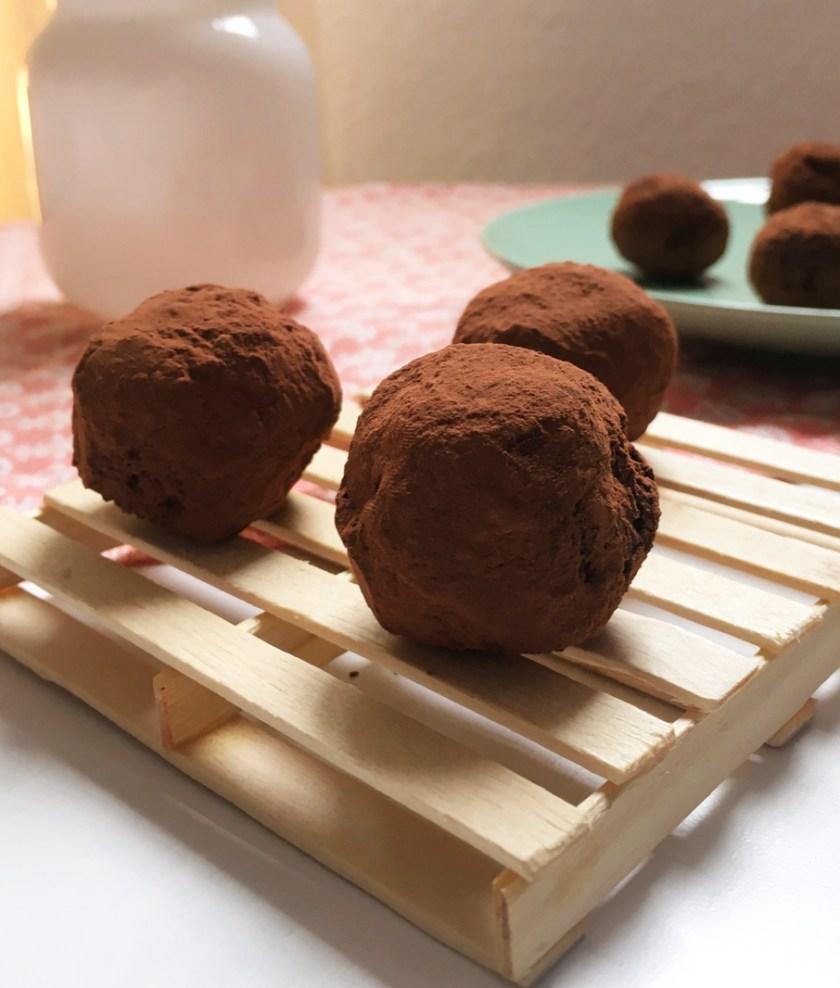 bombones cacao y canela