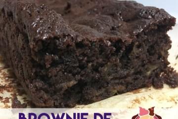 brownie de berenjena