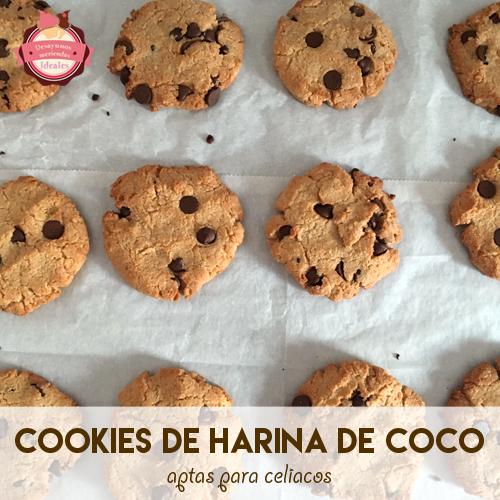 galletas de harina de coco
