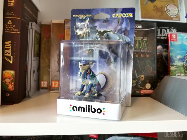 Amiibo Chumsky Monster Hunter Rise