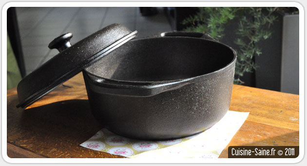 casserole fonte aluminium