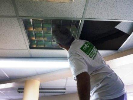eclairage led faux plafond