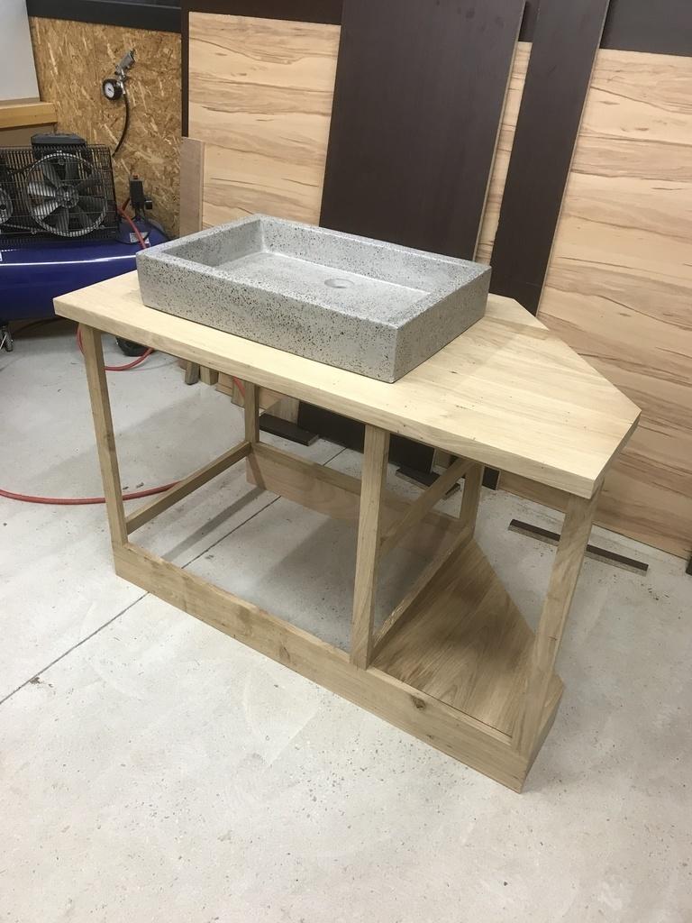 fabrication meuble de salle de bain