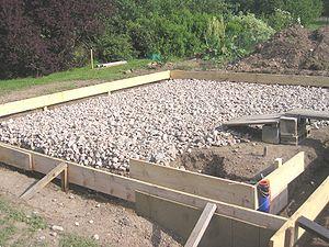 plan de travail exterieur en beton