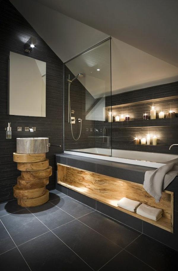 porte vitrée salle de bain
