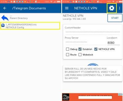 descargar nethole vpn gratis free vip premium