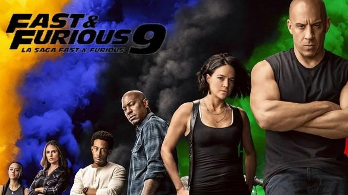 Rápido y furiosos 9 (película) Dual HD 1080p (Mega)
