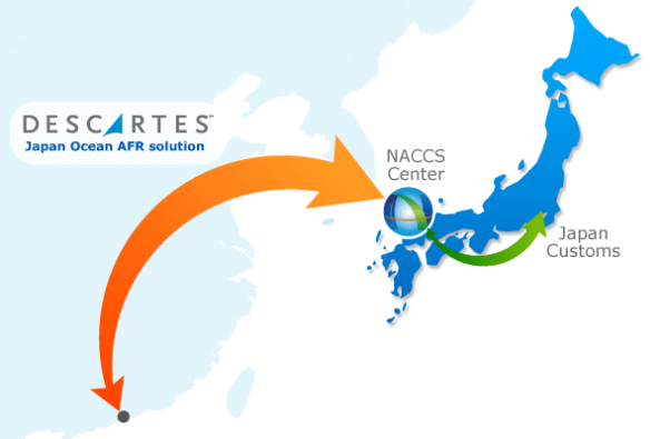 Descartes web-based solution complies with the requirements of Japan's Ocean Advance Filing Rules (AFR).