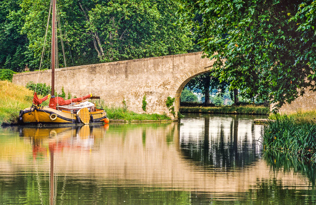 Canal du midi, Gilles Deschamps, Occitanie, Patrimoine, Saisons, South of france, Sud de France, printemps