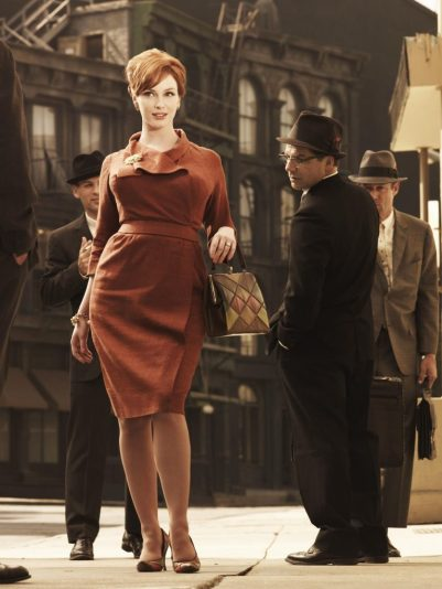 DramaPor Season 3 Picture shows: Joan Harris (Christina Hendricks). Generic. TX: BBC FOUR Wednesday 27th January 2010