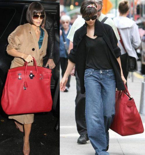 katie-holmes-gigantic-big-red-hermes-birkin-hac-bag
