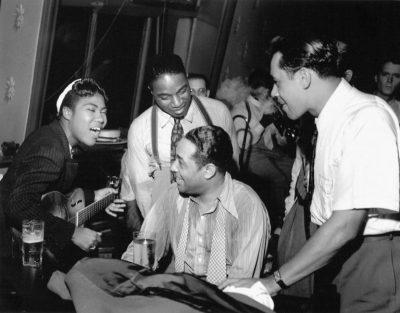 Rosetta Tharpe, Duke Ellington et Cab Calloway