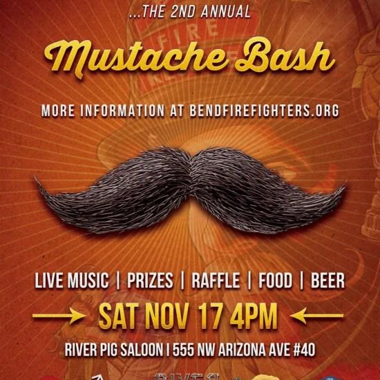Mustache Bash Poster