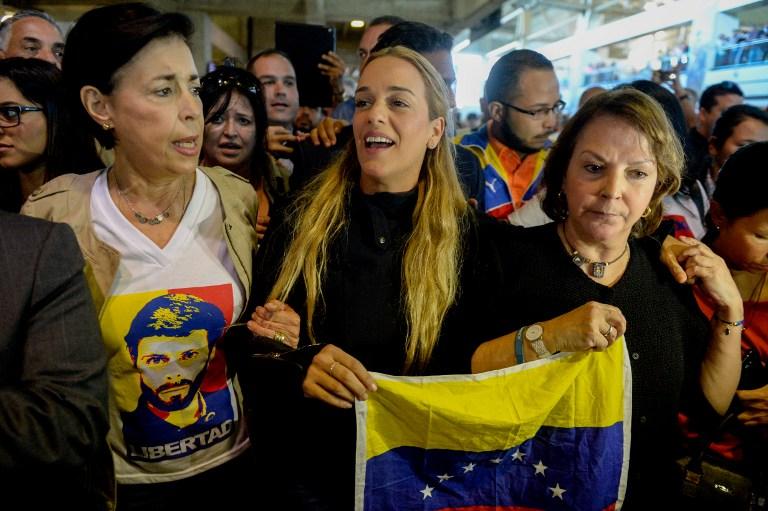VENEZUELA-POLITICS-TINTORI-LEDEZMA