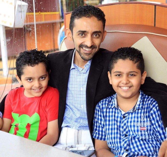 Hisham al-Omeisy, activista de la primavera árabe detenido el 14 de agosto junto a un grupo de periodistas