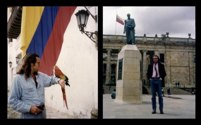 Martín Medem durante sus años como corresponsal en latinoamércia