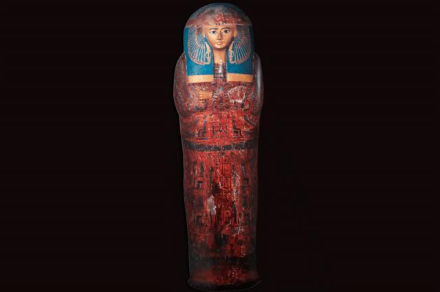 Arte Egipcia No Museu Egipcio Do Cairo Sarcofago De Maatkare
