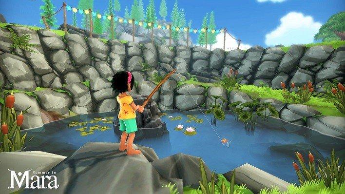 El adorable Summer in Mara estará disponible en PC y Switch el 16 de junio