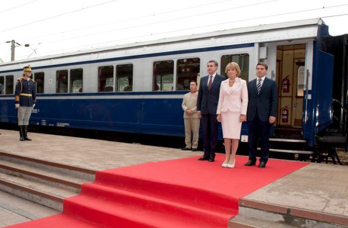 """""""Trenul Aducerii Aminte"""" va poposi în gara Dr. Tr. Severin"""