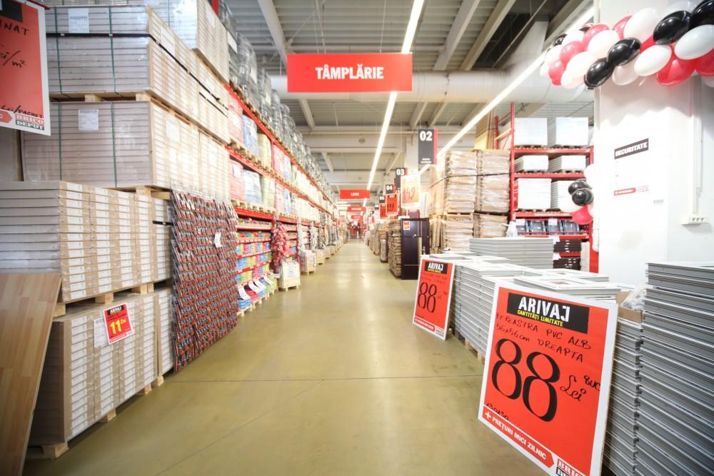 Brico Depot interior magazin
