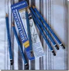 Crayons Staedtler de différentes duretés