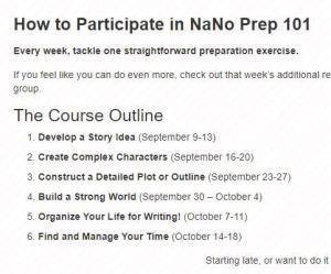 Les étapes proposées pour le Nano Prep