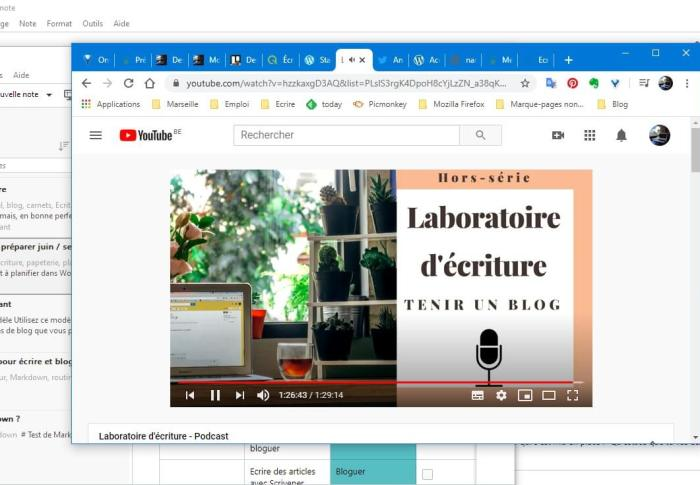 Un podcast sur le blogging