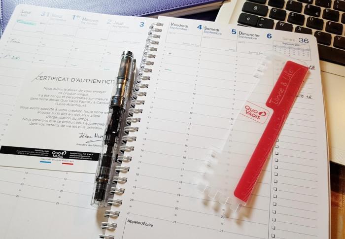 Créer son agenda personnalisé sur Quo Vadis Factory