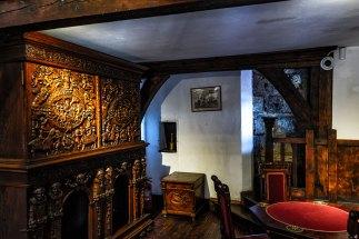Uma das salas do Castelo