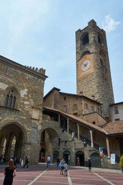 Detalhe da Piazza Vecchia