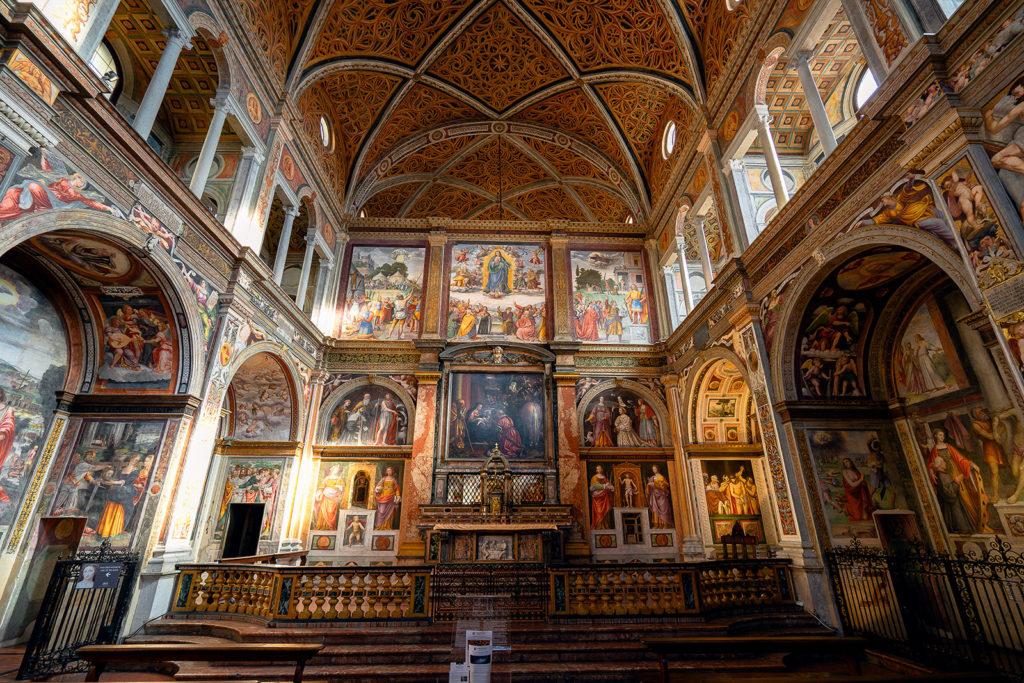 A Capela Sistina de Milão