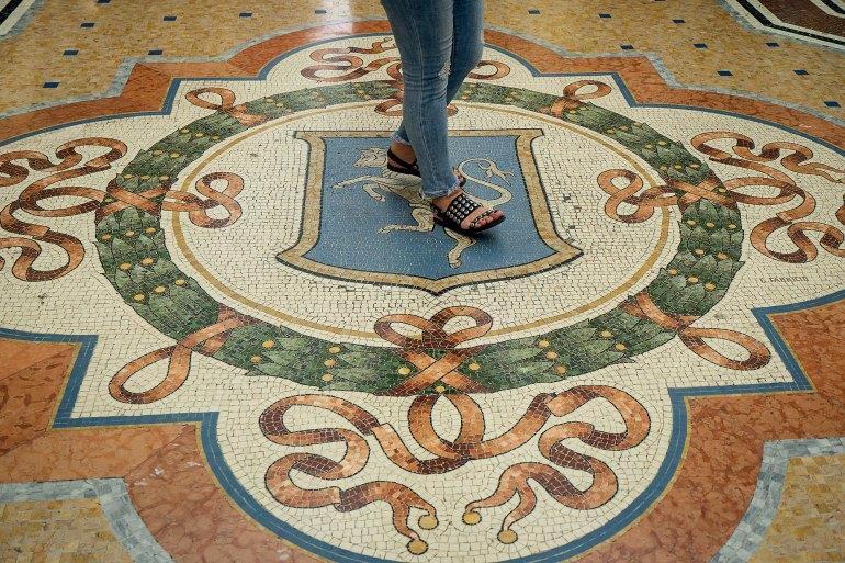 Touro da Galleria Vittorio Emanuele