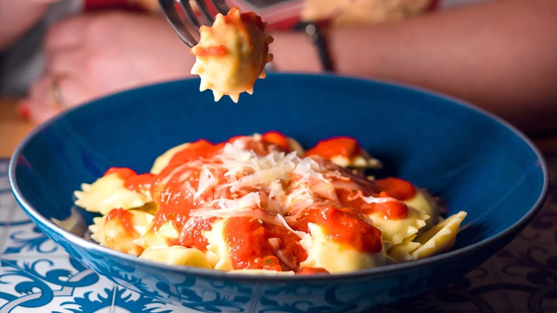 Receita de massa fresca italiana