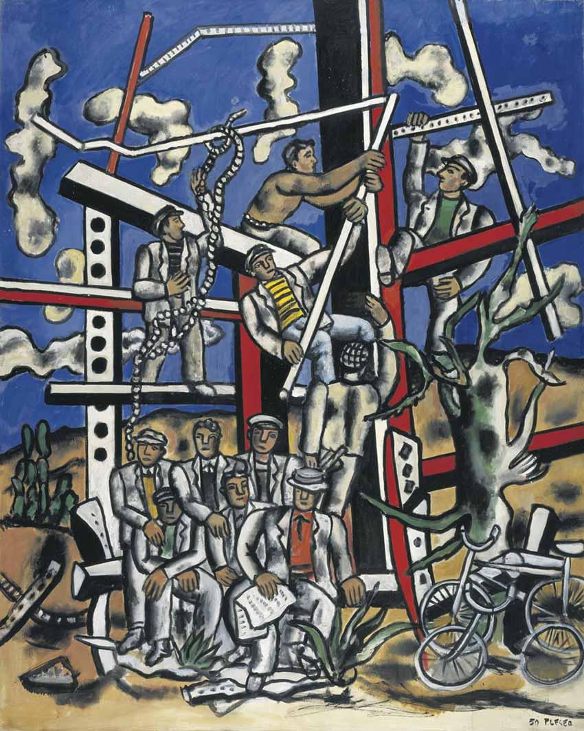La huella de Fernand Léger 1