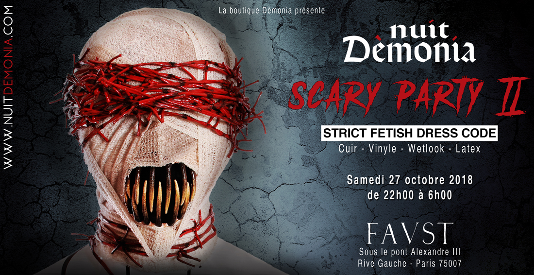 nuit demonia scary party