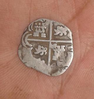 Antigua moneda española del maravedí