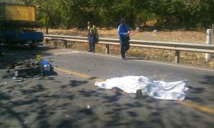 motociclista accidente