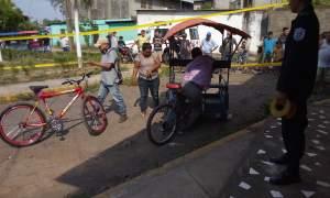 triciclista muere