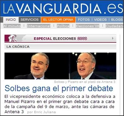Solbes vs. Pizarro 2008