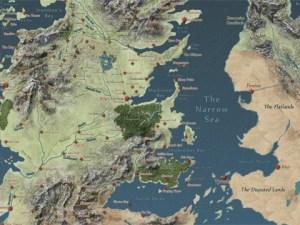 mapa interactivo de Game of Thrones